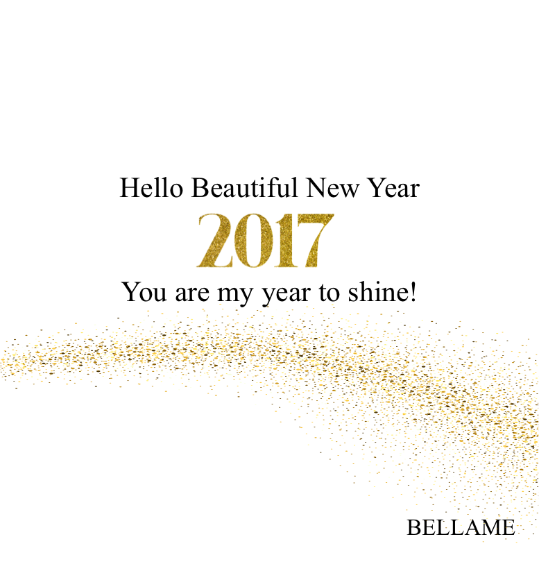 Happy Beautiful New Year!   Bellame Beauty Inc.