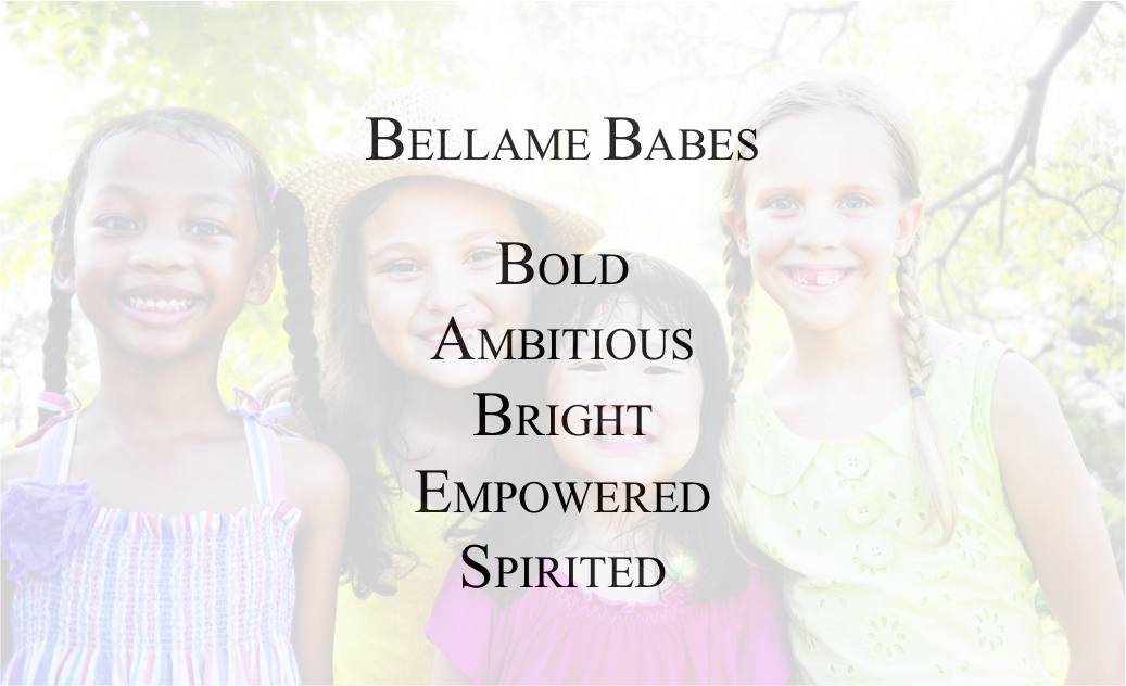 BELLAME Babes with text